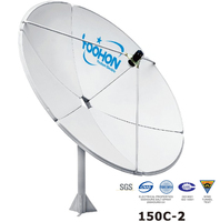 Satellite Antenna 150cm Prime Focus Dish