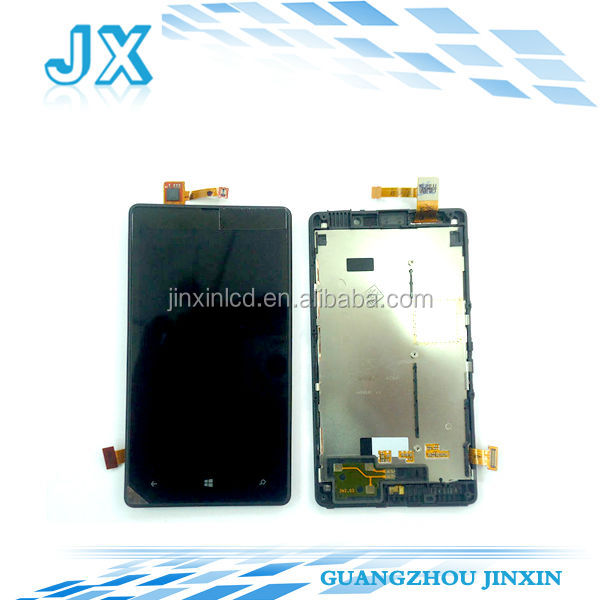 Cell Phone LCD for Nokia Lumia 820 LCD Display Touch Digitizer