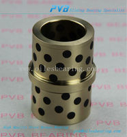Graphite Bronze Bearing,Oiles Flanged Bushes,2086.70.050.055 Sliding Bearing Copper Bushing OEM Factory
