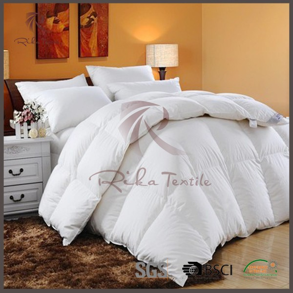 Luxury white bed sheet patchwork quilt
