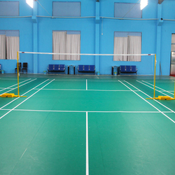 Flatted And Polished Acrylic Paint For Badminton Court