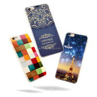 Slim Ultra Thin Colorful Soft clear Rubber TPU Case dot view case for iphone 6