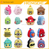 Children's gifts kindergarten backpack plush baby children school bags