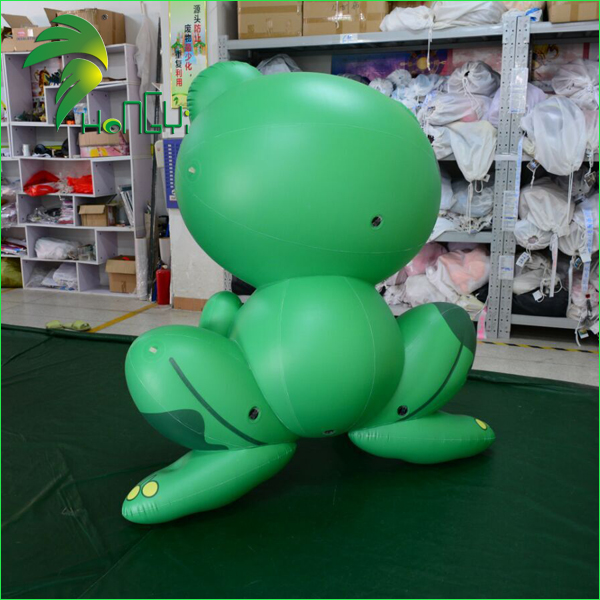 Best Price Cute PVC Decoration Frog Animal Inflatable Replica Cartoon Toy