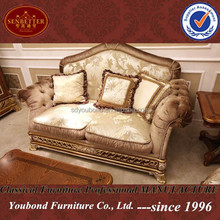 0062 Italy sofa sets Luxury classic sofa pictures of antique furniture style