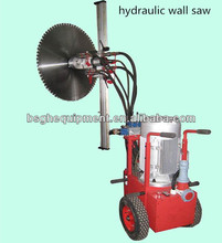 bridge cutter HWS-500TM hydraulic wall saw machine cutting concrete