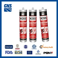 Silicone glue stick gasket material
