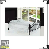 industrial cheap metal bed with good designs