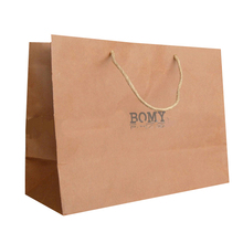 high quality printed custom made brown kraft paper grocery bags