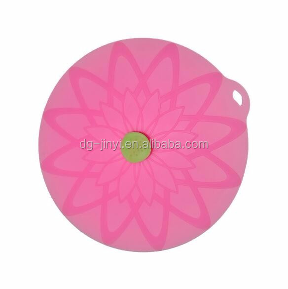 latest multifunctional silicone pot lid lotus pot lid holder