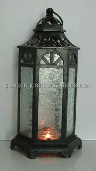 Metal Table Lamps Candle holder Lantern Home Decor