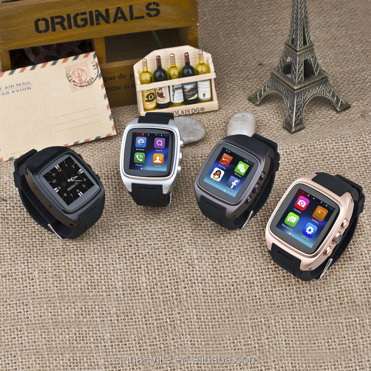 2016 new design high quality wifi 3g touch smart watch mobile phone with low price