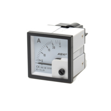 60A 300V 48*48mm Analog Panel Meter analog ammeter and Voltmeter