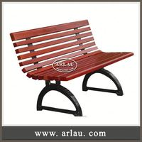 Arlau Simple Wooden Bench Design,Outdoor Wooden Garden Bench,Wooden Long Back Bench