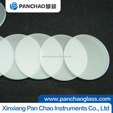 10mm thick panel clear/ultra Round shape tempered glass