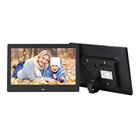 "7"" 8"" 10"" inch digital photo frame with rechargeable battery"