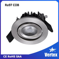 High quality Vertex Home Lighting series recessed katalog lampu downlight led