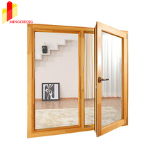 High Quality Engergy Saving Thermal Break Casement Aluminum Window with Double Glazing