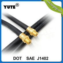 sae j1402 dot certifited 3/8 inch brake rubber air hose connector