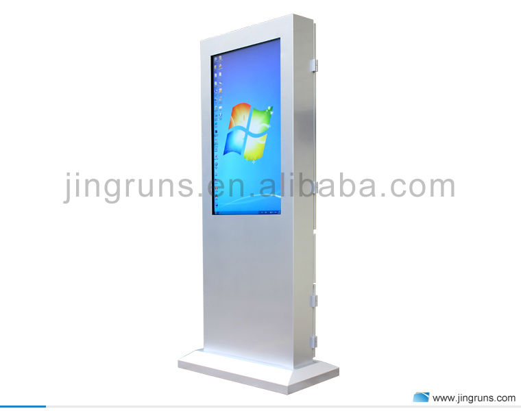 "42"" 43"" 49"" 50"" 55"" full hd 2000nits outdoor touch screen kiosk / outdoor digital signage"