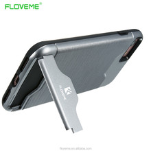 Hot Sale FLOVEME 2 in 1 Plastic Tpu Cover Bumper Stand Phone luxury Case For IPhone 7 7 Plus