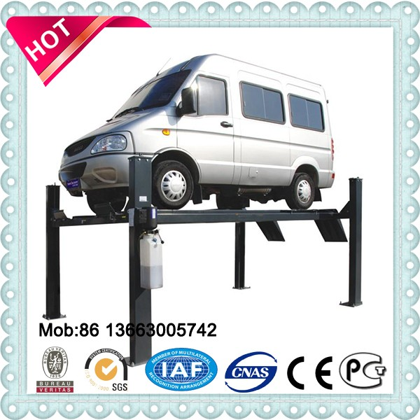 Floor cross car elevator High rise 4 post car lift