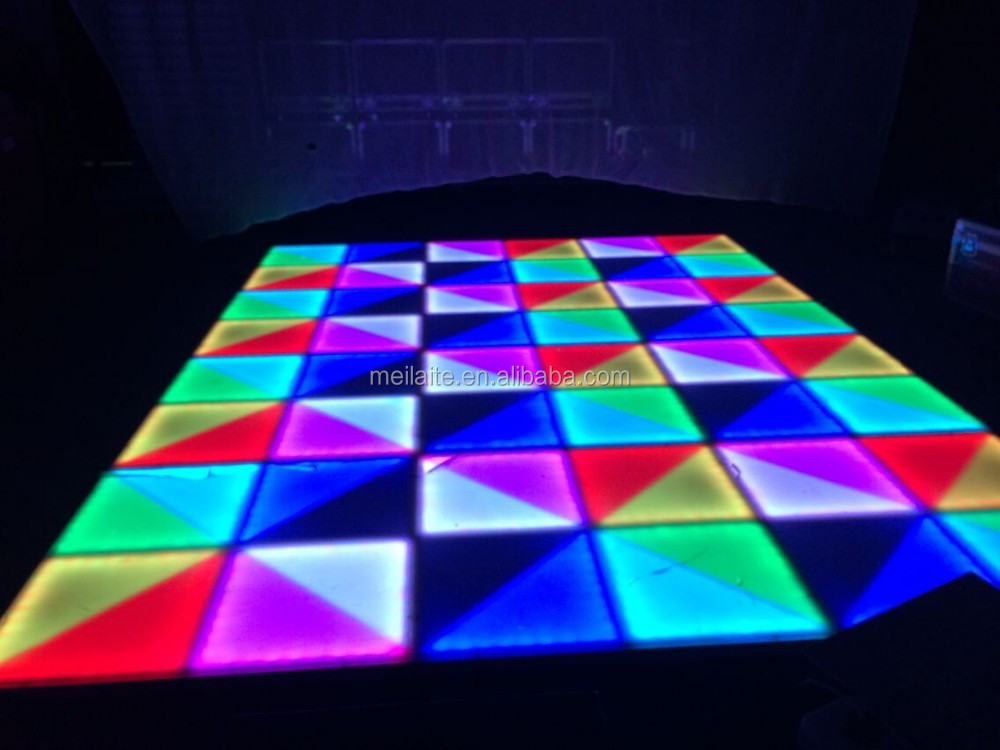 IP54 IP Rating and LED Light Source disco dance floor tile