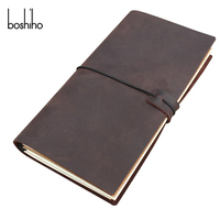 High quality customize a4 folder leather journal notebook