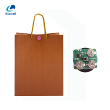 Promotion kraft paper custom made sound paper gift bag with logo