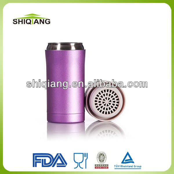 250ml thermos vacuum two-tier lids vacuum bottles with tea filter keeps hot or cold 24hours use for kids