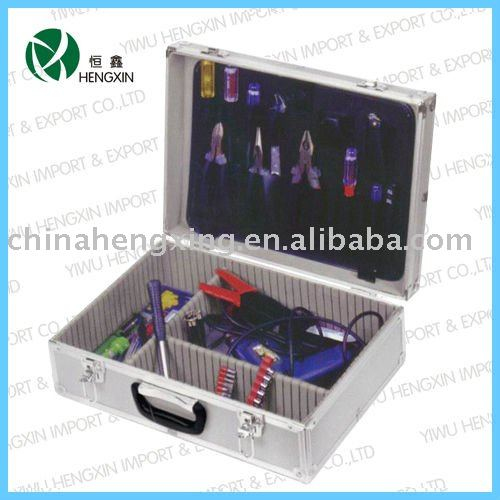 aluminum portable instruments bin,electrical tool kit,small aluminum tool cases