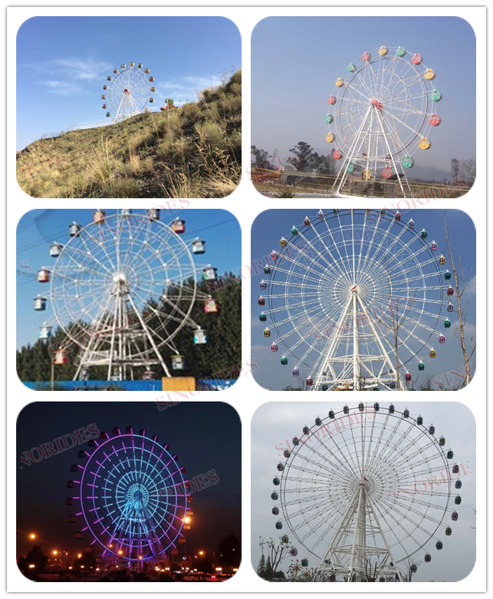 Hot sale used ferris wheel with LED light and sound music