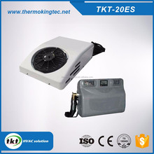 Back Mounted DC 24 V Split type Truck Cabin Air Conditioner / Conditioning Unit for Tractor, Trucks Sleeper TKT-20ES