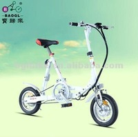 12 Inches electric folding bike/proprietary product/Baogl Ubike5.0