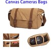 Wholesale Canvas Cosmetic Bag, Camera Shoulder Canvas Tote Bag For Travel