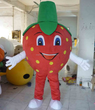 strawberry mascot costume for adults/ fruit costume mascot
