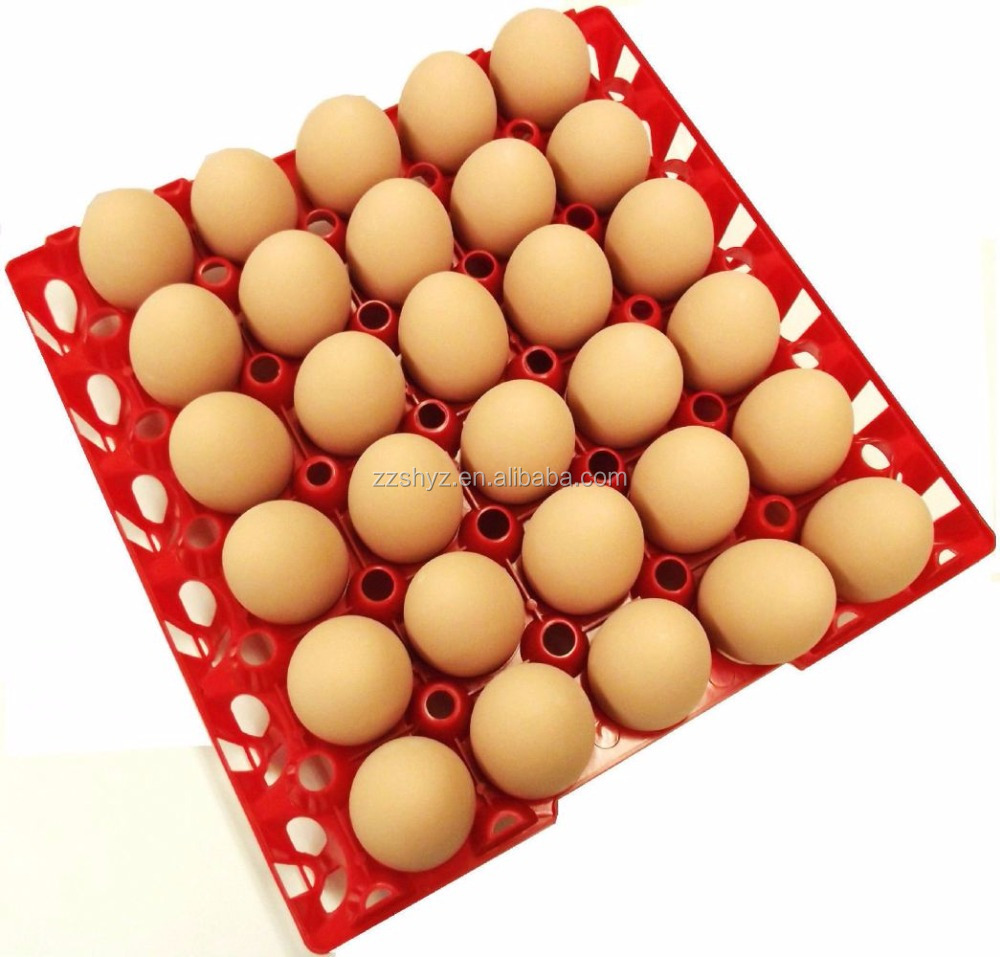 Colorful Large Plastic Chicken Egg Trays For Incubator