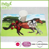 3D Lenticular Plastic Card Postcard,apple gift card,3d horse pictures