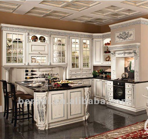 2013 French provincial kitchen cabinet antique kitchen cabinet design