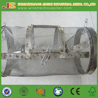 2014 new design round shape two door trap snake cage used for island area made in china for sale