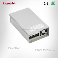 IP44 FS-400W LED Rainproof Constant Voltage Power Supply with Fan AC to DC SMPS CE Approval
