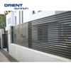 factory price aluminium fence and gate slats Metal Fence Panel