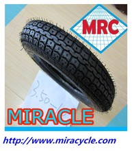 Made in CHINA MRC Top quality radial off the road rubber scooter tyre motorcycle tire 3.50-10 for high way