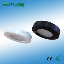 Round dimmable SMD 2835 led kitchen cabinets 3W led puck light