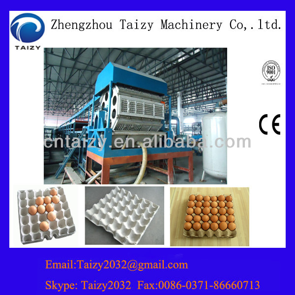 Hot selling and automatic pulp egg tray moulding machine