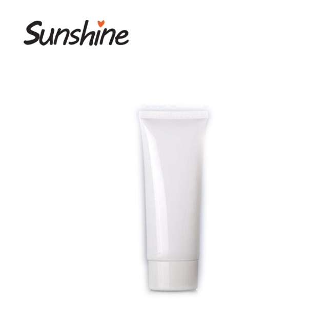 Empty cosmetic skin face cream for girl beauty plastic tubes packaging