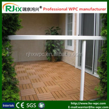cheap composite decking materialDecorative item from waste material of wood powder