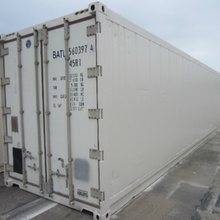 White used Daikin / Carrier / Thermo King enset reefer container