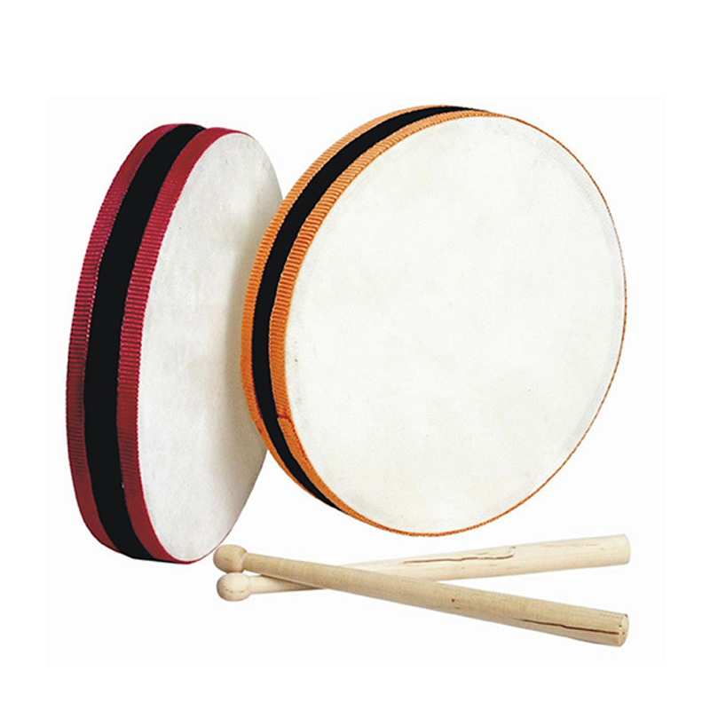 Musical instruments for sale,best educational toys,sided drum with sticks
