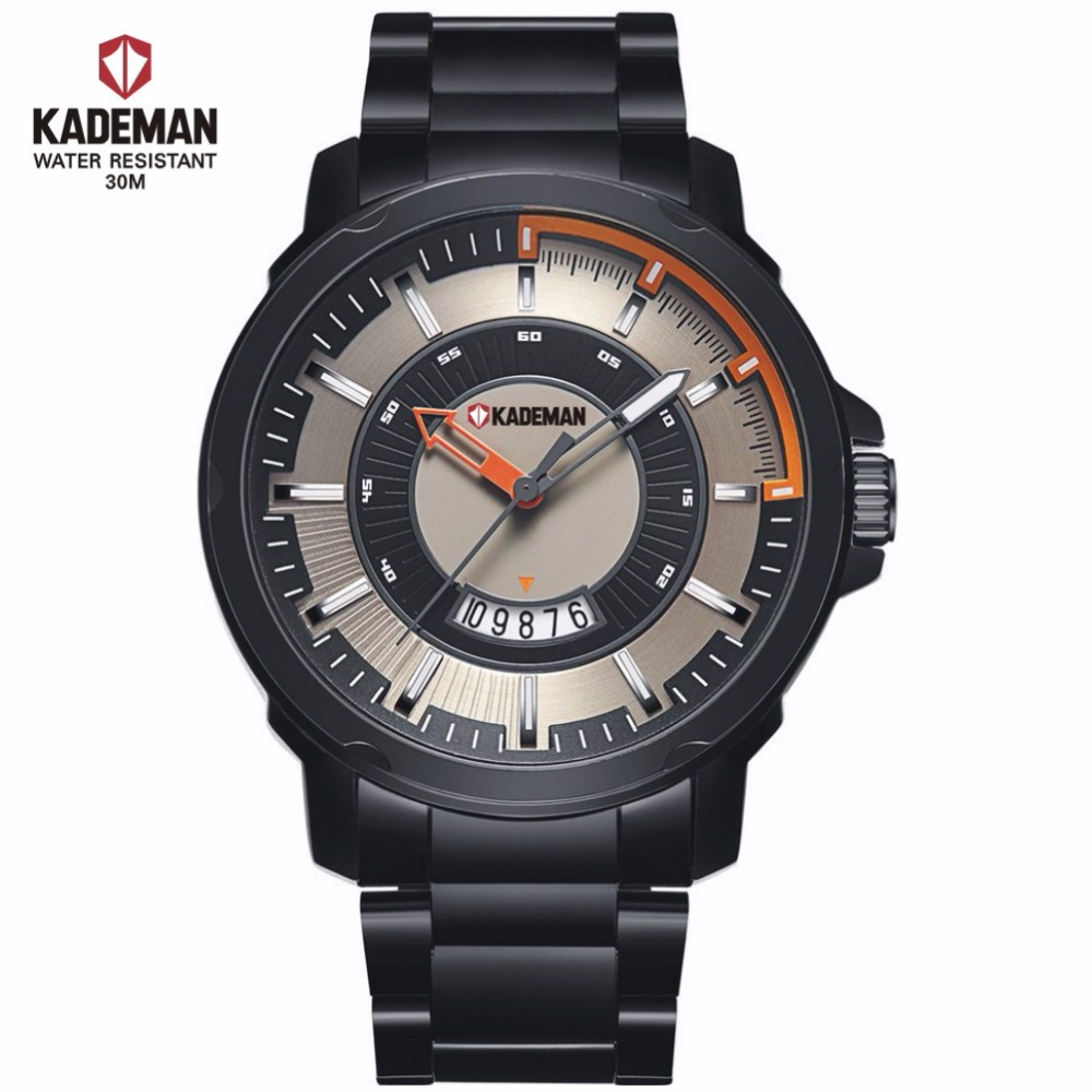 Luxury japan movt 3 atm Automatic sports men watch 2016